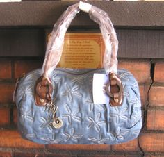 New Blue Jody Coyote Handbag
