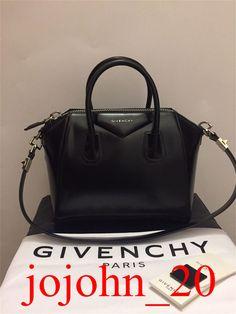 NEWEST GIVENCHY ANTIGONA black SMOOTH TOTE BAG SAC TASCHE STRAP HANDBAG   fashion  clothing   5cc5ae0c383