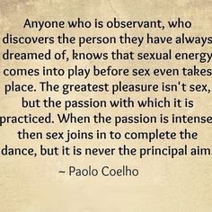 I love the passion we have... its incredible and it has led to the most love and the best sex I have ever known... believe these words!!