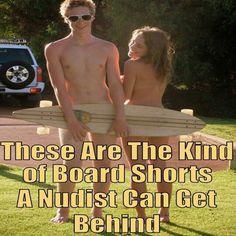 These are nudist boa