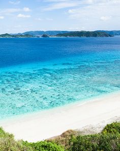 Endless summer, endless clear blue, Kerama Islands, Japan by ippei + janine, via Flickr