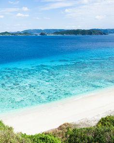 Endless summer, endless clear blue, Kerama Islands, Japan by ippei + janine, via Flickr