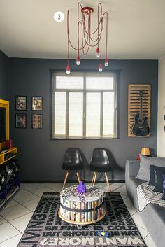 Guitar na parede