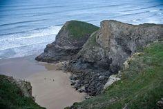 #cliff #cliff coast #cliffs #coastline #cornwall #low tide #ocean #sea #seashore #seaside #shore #tide