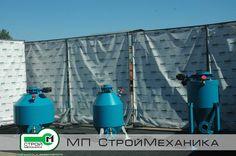 Pneumatic chamber pumps manufactured by MP #StroyMehanika for the transportation of dry powdered and granular materials. Link http://www.stroymehanika.ru/pnevmokamernye_nasosy.php