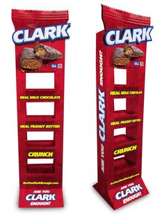 Clark Bar Rebranding on Packaging of the World - Creative Package Design Gallery