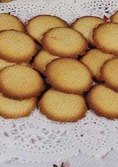 Galletas de nata gallegas