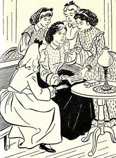 1951 'Little Women' Louisa May Alcott, 1st Ed, DJ, SARI Illustrations, Vintage