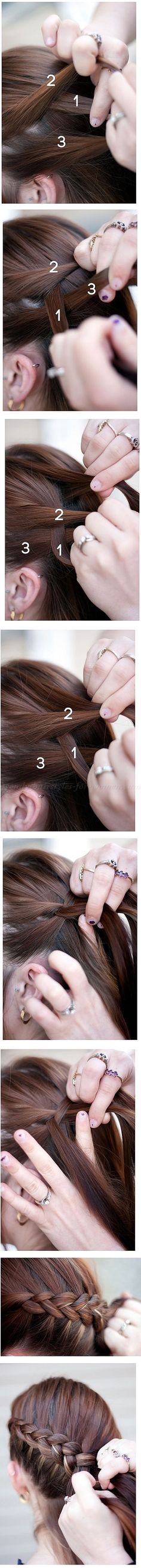 hairstyle tutorials, hairstyles step by step - Katniss Everdeen hairstyle from the Hunger Games|trendy-hairstyles-for-women.com