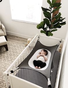 Crescent Womb Infant Safety Bed - The best safe sleep option for your baby! Baby Room Design, Baby Room Decor, Nursery Room, Bedroom Décor, Safety Bed, Baby Safety, Safety Tips, Baby Cover, Baby Boy Rooms