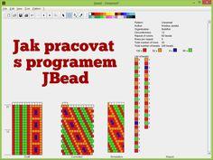 Jak pracovat v programu JBead - jak kreslit schémata na háčkované dutinky