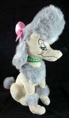 Disney Store Exclusive Georgette Oliver and Company 14 Plush Poodle Pink Bow Oliver And Company, Baby Mickey, Poodle, Plush, Bows, Store, Disney, Pink, Arches
