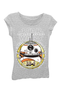 Star Wars The Force Awakens BB-8 Tee (Big Girls)