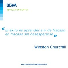 #InnovaQuotes, Winston Churchill definió cual era su percepción del éxito. ¿Cuál es la tuya?