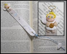 little angel, para separador de libros