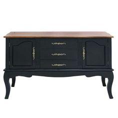 Wood Buffet Cabinet