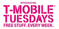 Are you a #TMobile customer? Make sure you download the T Mobile app here for freebies every Tuesday!