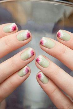 16 Cute Floral Nail Art Ideas, Ideal for Spring and Summer #Design #Art #Nail #Creativity