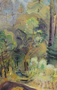 Young Arbutus  -  Emily Carr, 1939