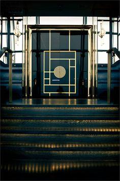 Main Entrance Door Design Dining Rooms Ideas For 2019 Main Entrance Door Design, House Entrance, Entrance Doors, Grand Entrance, Doorway, Art Deco, Restaurant Door, Design Oriental, Hotel Door