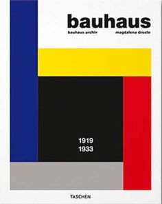 Bauhaus 1919-1933 | Taschen. The Bauhaus was a group that began the modern design movement that now dominates our current market. Originally the movements main philosophy was the democratization of design. It experimented with the new made materials and function over form was deemed more moral.