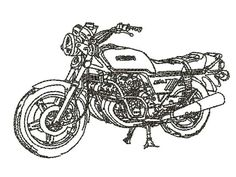 Honda Gestickt (Näh   stickerei)