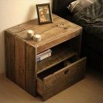 Wooden Pallet Bedside Table with New Ideas