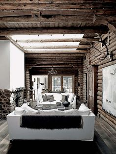 ♥♥♥ Rustic &  Modern. Love it! ♥♥♥