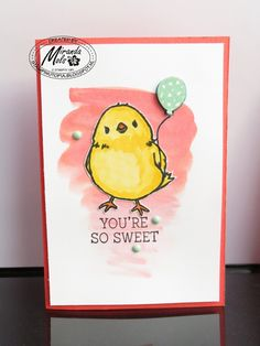 Stampin Utopia Bestel Stampin' Up! Hier: Cute Chick