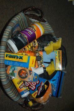 Fundraiser Baskets, Raffle Baskets, Theme Baskets, Themed Gift Baskets, Homemade Gift Baskets, Homemade Gifts, Cool Gifts, Best Gifts, Diy Gifts