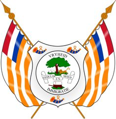 Coat of Arms of the Orange Free State - Orange Free State - Wikipedia, the free encyclopedia African States, African Countries, Armed Conflict, Free State, African History, Coat Of Arms, South Africa, Presidents, Stamps