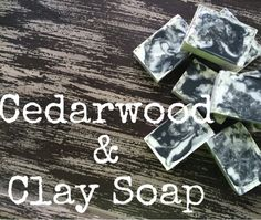 The Cedarwood and Clay Soap Recipe recipe is packed full of skin-perfecting goodness: Bentonite Clay! #essentialoils #soap