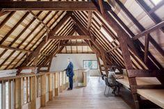 Romeins Halder: Museum from A Barn at A Historical Estate https://www.futuristarchitecture.com/37342-romeins-halder-museum-barn-historical-estate.html