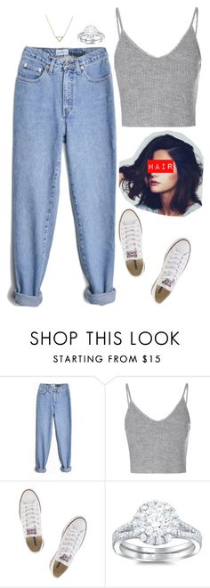 """Monica Geller"" by x-supernatural-x ❤ liked on Polyvore featuring beauty, Glamorous, Converse and Banana Republic"