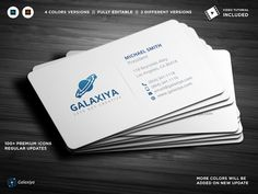 Modern Corporate Business Cards Templates **Modern Corporate Business Cards**---**Features**- CMYK Mode - 300 DPI - Fully Layered - PSD by Galaxiya Create Business Cards, Minimal Business Card, Cool Business Cards, Corporate Business, Professional Business Cards, Business Brochure, Business Card Logo, Business Card Design, Creative Business