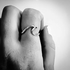 simple & stylish Indie and Harper wave ring