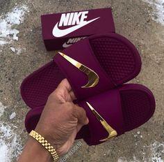 Slides💕😍 Jordan Shoes Girls, Girls Shoes, Jordans Girls, Shoes Women, Cute Sneakers, Shoes Sneakers, Air Jordan Sneakers, Retro Sneakers, Shoes Heels