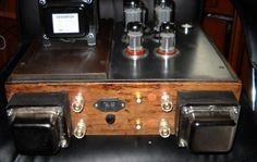 Wzmacniacz lampowy 6ca7 (EL34)