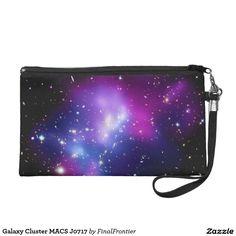 Galaxy Cluster MACS J0717 Wristlet Purse