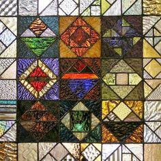 stained glass sampler by leibenaller on Etsy, $400.00