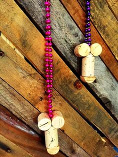 A set of 5 handmade wine cork penis necklaces. Great for a bachelorette or hen party. Additional quantities and custom orders available. Please note: similar to male anatomy, these cork c*cks will vary in shape, size, and color