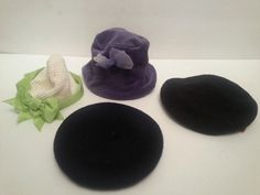 Lot of 4 American Girl Doll Hats