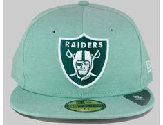 NFL x NEW ERA「Oakland Raiders Piqued」59Fifty Fitted Baseball Cap