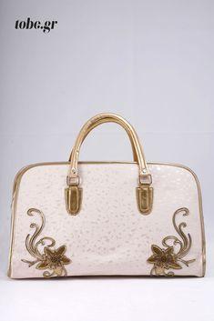 Σε εκρού με χρυσό, για κομψότερη εμφάνιση. Κωδ. 718.007, τηλ. 2510 241726 Kate Spade, Bags, Fashion, Handbags, Moda, Fashion Styles, Fashion Illustrations, Bag, Totes