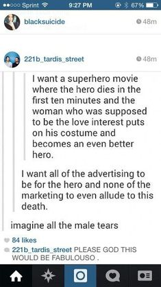 First of all, I'm pretty sure guys would find this cool. second of all, if advertising is all for the dude and I get a lady, that's false advertising and I'd be incredibly disappointed. Third of all, read the Marvel comics. Those who get this reference will understand why I am telling you this.