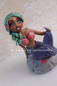 Mermaid figure - Cake by Zoe's Fancy Cakes