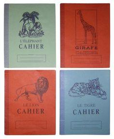 KAVITA PARMAR'S PICK - Mid-Century French School Notebooks - $35.