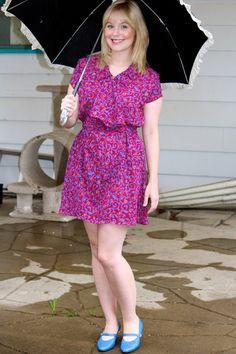 Paisley Dresses on Rainy Days