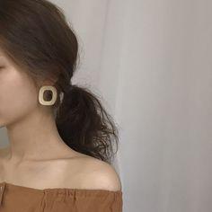 wood earrings 07 (2 colors)