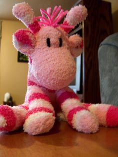 sock giraffe